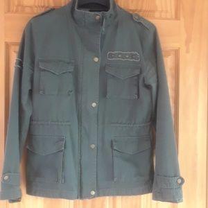 Forever 21 Military Jacket L